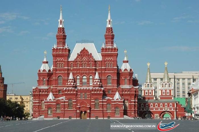 bao tang lich su Moscow