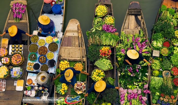 Chợ nổi Dumnoen Saduak