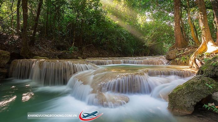 Thác nước Huay Mae Khamin