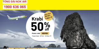 KM mới của Nok Air cho hành trình du lịch Thái