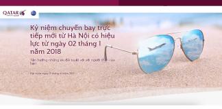 KM Qatar Airways cho hành trình bay từ Hà Nội đến châu Âu