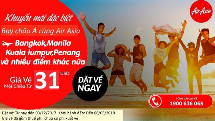 KM Air Asia năm 2018