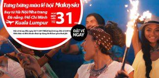 Air Asia KM vé đi Malaysia giá rẻ