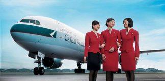Cathay Pacific KM vé đi Mỹ giá rẻ