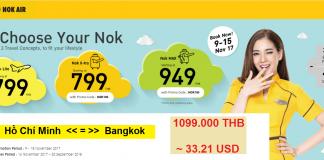 KM mới của Nok Air