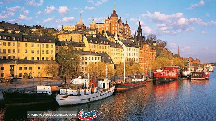Vẻ đẹp như trong mộng ở đất nước Thụy Điển