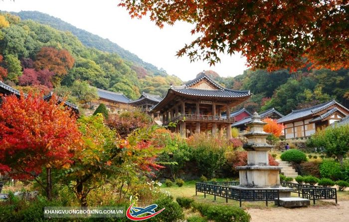 Khung cảnh bình yên ở chùa Geumsansa