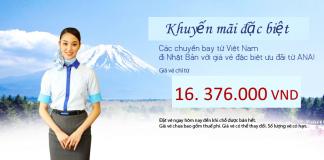 Vé đi Nhật Bản giá rẻ từ Việt Nam năm 2018