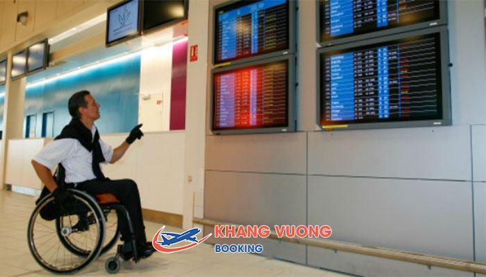 Dịch vụ hỗ trợ xe lăn cho người khuyết tật của Jetstar