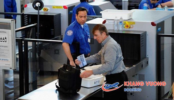 Hãng sẽ kiếm tra hành lý của bạn trước khi chấp nhận vận chuyển