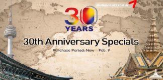 Chương trình khuyến mãi năm 2018 của Asiana Airlines