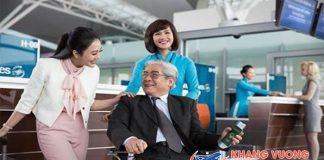 Quy định hành khách hạn chế khả năng di chuyển đi máy bay Vietnam Airlines