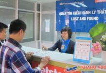Quy định tìm kiếm hành lý thất lạc Vietnam Airlines
