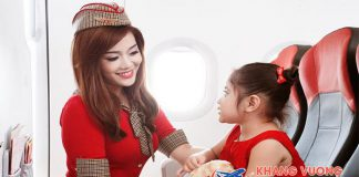 Hãng hàng không Vietjet Air quy định trẻ em đi máy bay