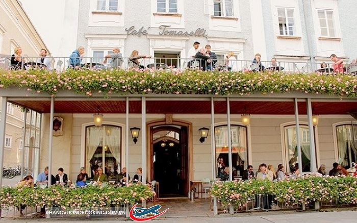 Văn hóa uống cà phê ở Vienna