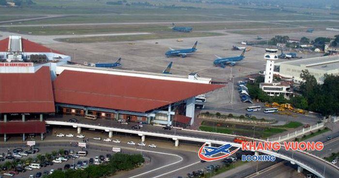 Sân bay bao gồm 3 nhà ga