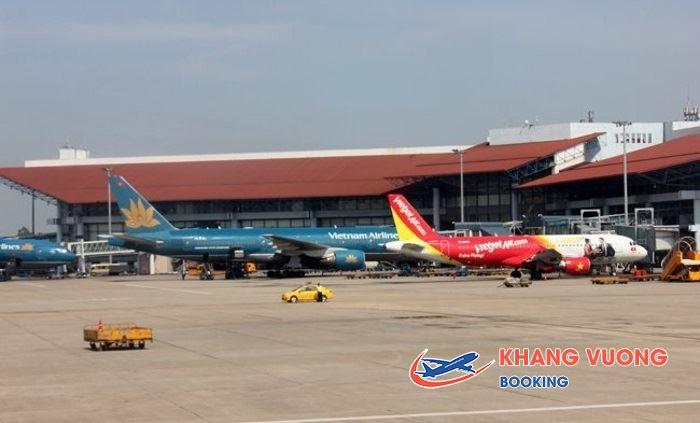 Sân bay quốc tế Nội Bài xây dựng vào năm 1977