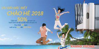 Vietnam Airlines khuyến mãi giá vé giảm tới 50%