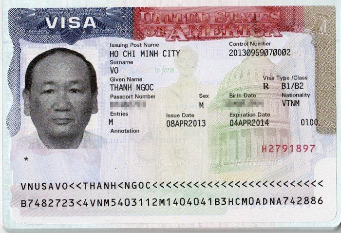 Mẫu visa
