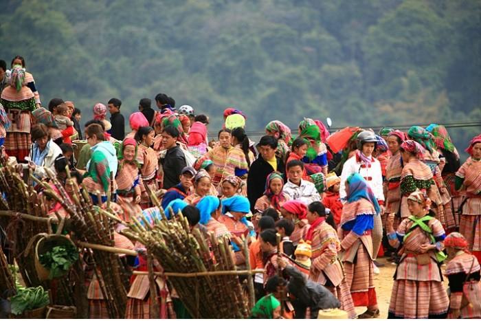 Chợ vùng cao Tả Sìn Thàng