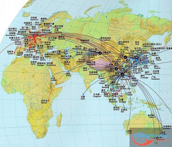 mang duong bay cua China Southern Airlines - http://vemaybaypti.com