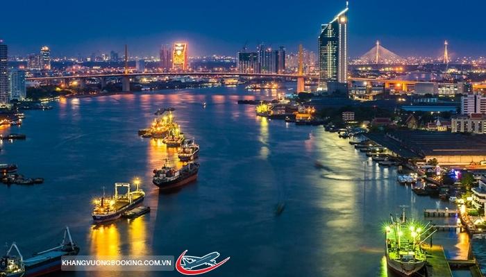 Du thuyền trên sông Chao Phraya