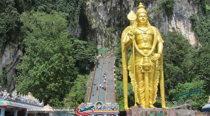 Động Batu nổi tiếng của Kuala Lumpur