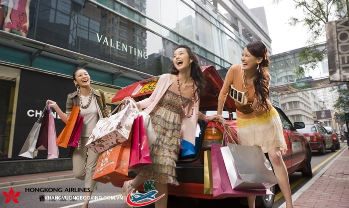 Mua sắm Hong Kong
