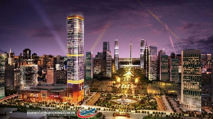 Thành phố Quảng Châu về đêm