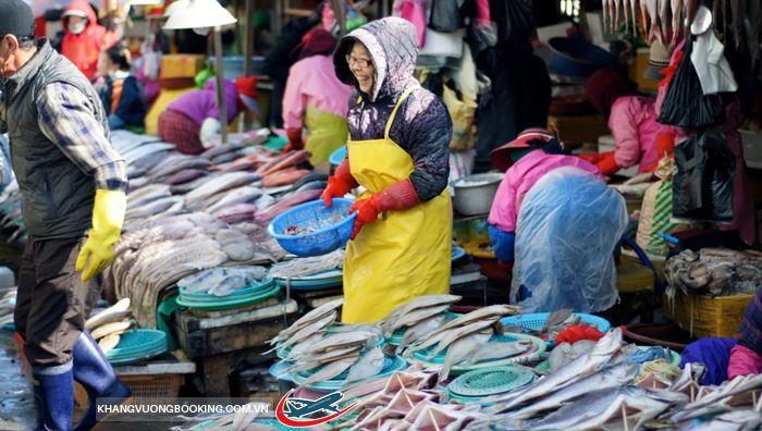 Chợ cá Jagalchi Busan