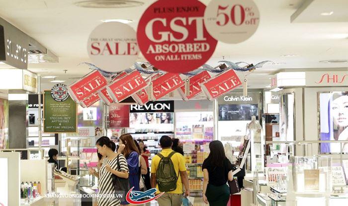 Mua sắm giảm giá ở Singapore