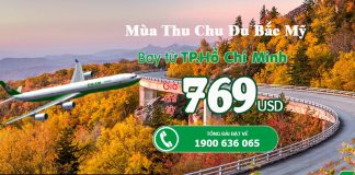 Eva Air KM vé đi Bắc Mỹ từ 769 USD.