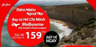 Air Asia KM vé đi Úc chỉ từ 159 USD siêu rẻ