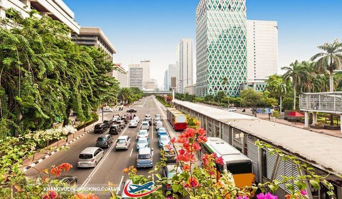 Dừng chân ở thành phố Jakarta!