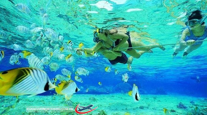 Lặn biển ở Krabi Thái Lan