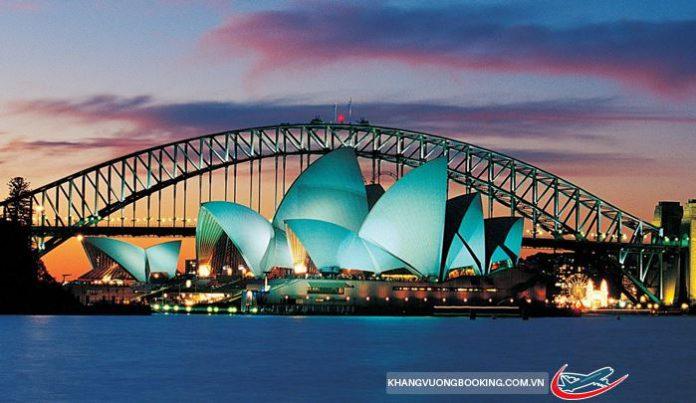 VNA KM vé đi Úc giá rẻ chỉ từ 700 USD siêu rẻ