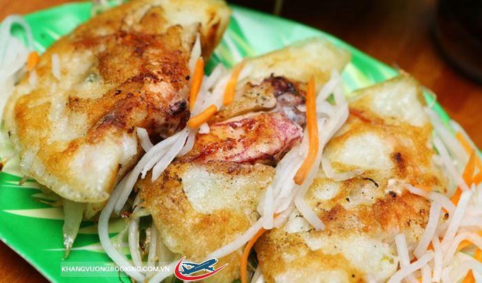 Bánh mực xèo Nha Trang.