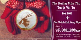 Qatar Airways KM hành trình khởi hành từ Hà Nội