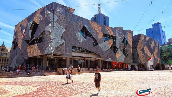 Quảng trường nổi tiếng ở Melbourne.
