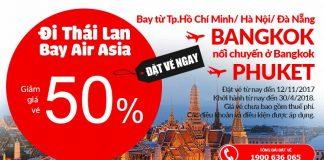 Săn vé rẻ đi Bangkok của Air Asia.