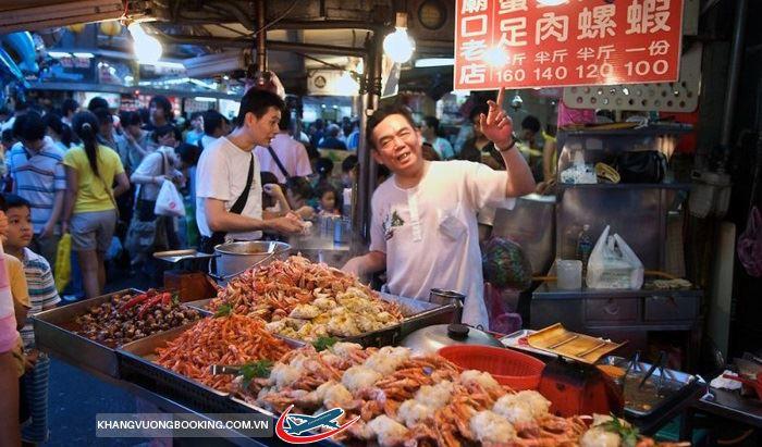 Món ngon chợ đêm Đài Loan