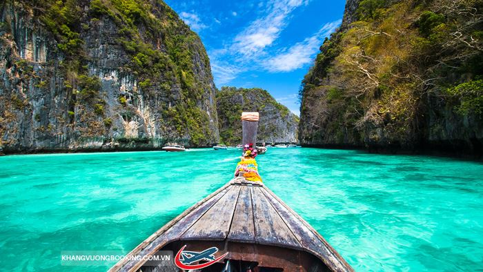 khám phá thiên đường biển Krabi