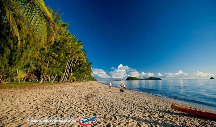 Vẻ đẹp ở bãi biển Palm Cove