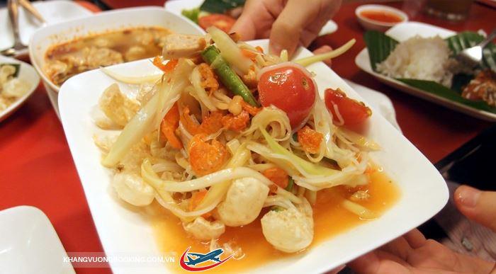 Món ngon đường phố Thái Lan