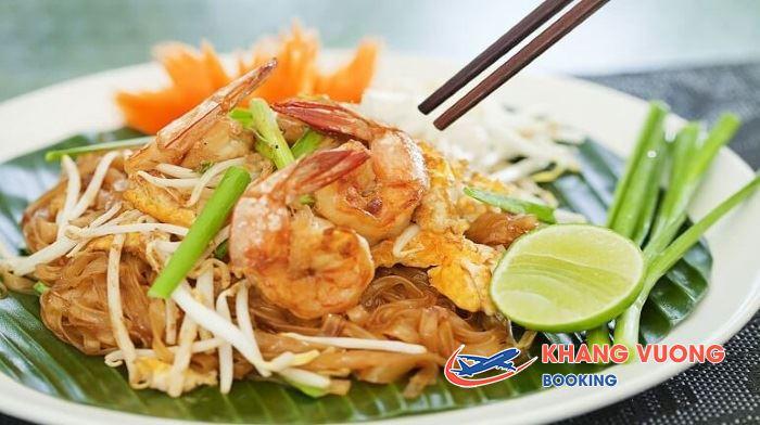 Món Pad Thái thập cẩm của Thái Lan