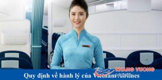 Hành lý ký gửi và hành lý xách tay Vietnam Airlines