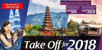 Vé Malindo Air một chiều chỉ từ 47 USD