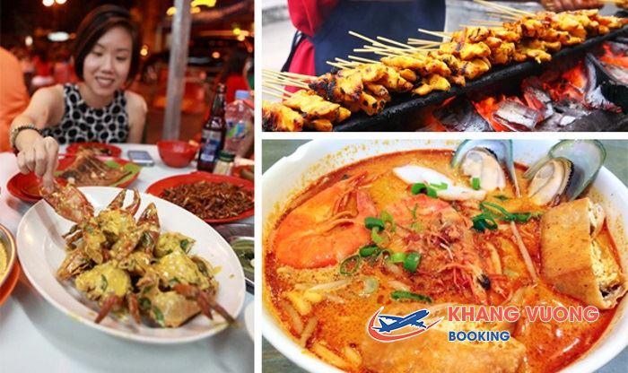 Món ăn ngon tại Kuala Lumpur