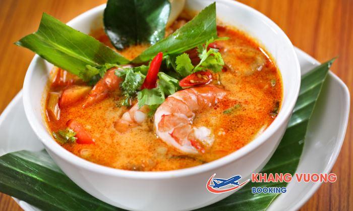 Tom Yum Goong - Mon ăn trong ngày tết truyền thống của người Thái