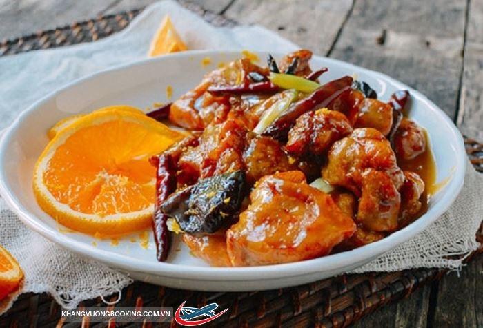 Thịt heo nướng sốt cam ở Ý